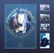 JOHN NOBLE Signed Lord Of The Rings Photo Display Set - King Denethor